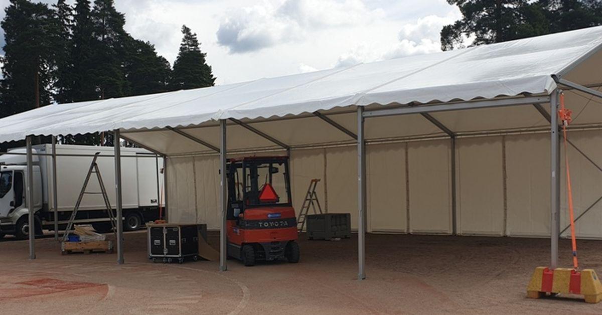Pro teltta, max 10x36m